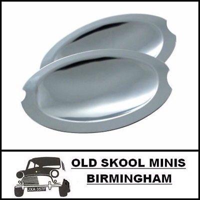 Classic Mini Stainless Steel Door Handle Scoops 8B12500 Austin ...