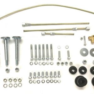 Classic Mini Lower Arm Suspension Cross Pin Kit INCLUDING Nuts /& PolyFlex Bushes